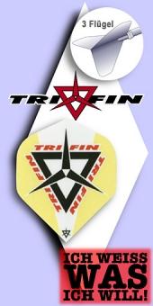 Tri Fin - Standard Flights - Gelb