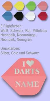 Motiv 'I love Darts'