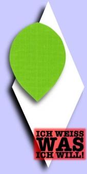 Long Life - Pear Plain Flights - Neongrün
