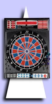 Karella - Premium Silver Elektronisches Dartboard - 2-Loch