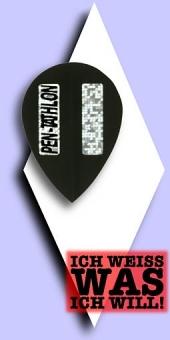 Pentathlon 2-D - Pear 100 Mikron Flights - Schwarz