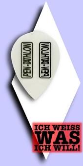 Pentathlon Poly Plain - Pear 100 Mikron Flights - Transparent