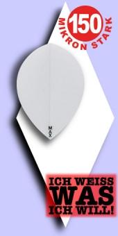 Power Max - Pear Flights White - 150 Mikron