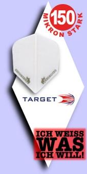 Neu im August - Target Rhino - 150 Mikron Standard Flights - Transparent