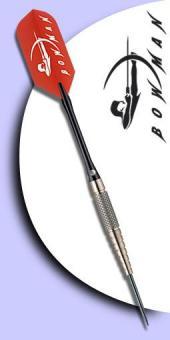 Bowman Slims 19 Copper / Tungsten (Kupfer/Wolfram) Steel Tip Darts - 19 Gramm