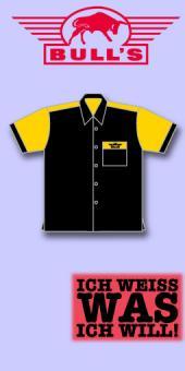 Bull's Dart Shirt - Schwarz/Sonnengelb