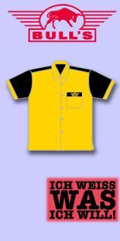 Bull's Dart Shirt - Sonnengelb/Schwarz