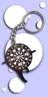 Dartschlüssel - Dart Board Tool als Schlüsselanhänger