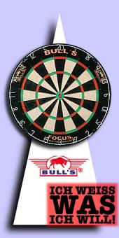 Bull's - Focus Bristle Dartboard