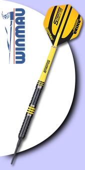 Neu im März Winmau - Stratos Dual Core - 95/85% Tungsten (Wolfram) Soft Tip Darts 18 Gramm