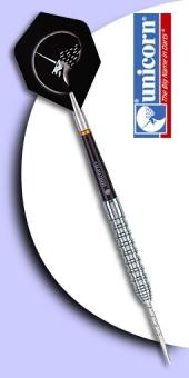 Neu im Juli - Unicorn - Gripper 90% Tungsten (Wolfram) Steel Tip Darts - Gerade Form
