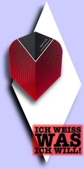 Neu im Juli - Harrows Optix - 100 Mikron Standard Flights - Rot