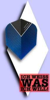 Neu im Juli - Harrows Optix - 100 Mikron Standard Flights - Blau