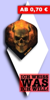 Neu im August - i-Flights - 100 Mikron Standard - Fire Skull