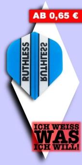 Neu im August - Ruthless - 100 Mikron Standard Flights - Blau