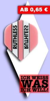 Neu im August - Ruthless - 100 Mikron Standard Flights - Pink
