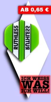 Neu im August - Ruthless - 100 Mikron Standard Flights - Grün