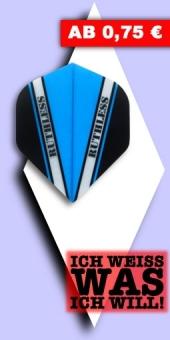 Neu im August - Ruthless V 100 - 100 Mikron Standard Flights - Hellblau
