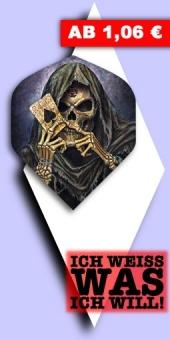 Neu im August - Alchemy - 100 Mikron Standard Flights - Reaper's Ace