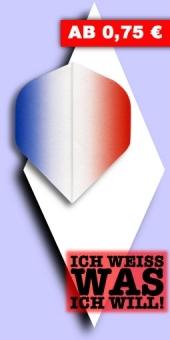 Neu im September - Vignette - 100 Mikron Standard Flights - Blau/Rot