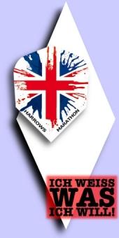 Neu im September - Harrows Marathon - Standard Flights - Union Jack