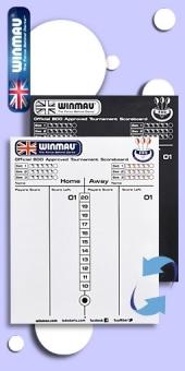 Winmau -  Whiteboard + Kreidetafel in einem