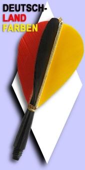 Standard Feder Flights Deutschlandfarben