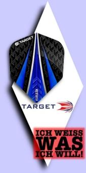 Neu im September - Target Vision Ultra - 100 Mikron Standard Flights No.6 - Blau