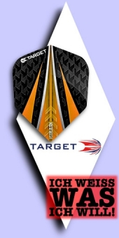 Neu im September - Target Vision Ultra - 100 Mikron Standard Flights No.6 - Orange