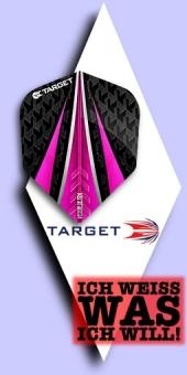 Neu im September - Target Vision Ultra - 100 Mikron Standard Flights No.6 - Pink