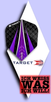 Neu im September - Target Vision Ultra - 100 Mikron Standard Flights No.6 - Violett
