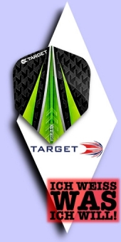 Neu im September - Target Vision Ultra - 100 Mikron Standard Flights No.6 - Grün