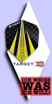 Neu im September - Target Vision Ultra - 100 Mikron Standard Flights No.6 - Gelb