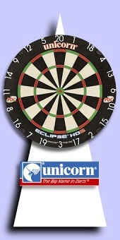 Neu im September - Unicorn - Eclipse HD2 Pro - Bristle Dartboard