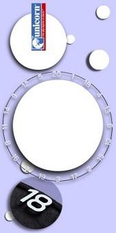 Neu im September - Unicorn - Eclipse HD2 Pro - Ersatz-Zahlenring für Bristle Dartboards
