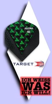 Neu im Oktober - Target Agora - 100 Mikron Standard Flights No.2 - Grün
