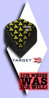 Neu im Oktober - Target Agora - 100 Mikron Standard Flights No.2 - Gelb