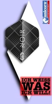 Neu im Juli - Unicorn - Gary Anderson Noir Dot - 100 Mikron Standard Flights (Big Wing)