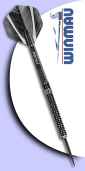 Neu im September - Winmau - Blackout 90% Tungsten (Wolfram) - Steel Tip Darts