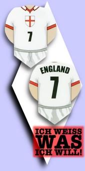 Metronic Football Shirt Flights - England