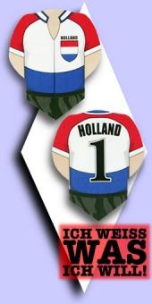 Metronic Football Shirt Flights - Holland