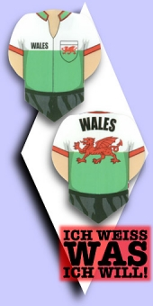 Metronic Football Shirt Flights - Wales