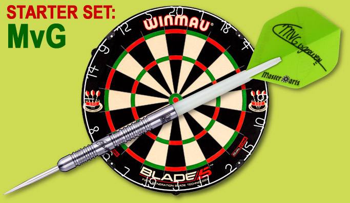 Darter's Best Starter Set Michael van Gerwen World Champion