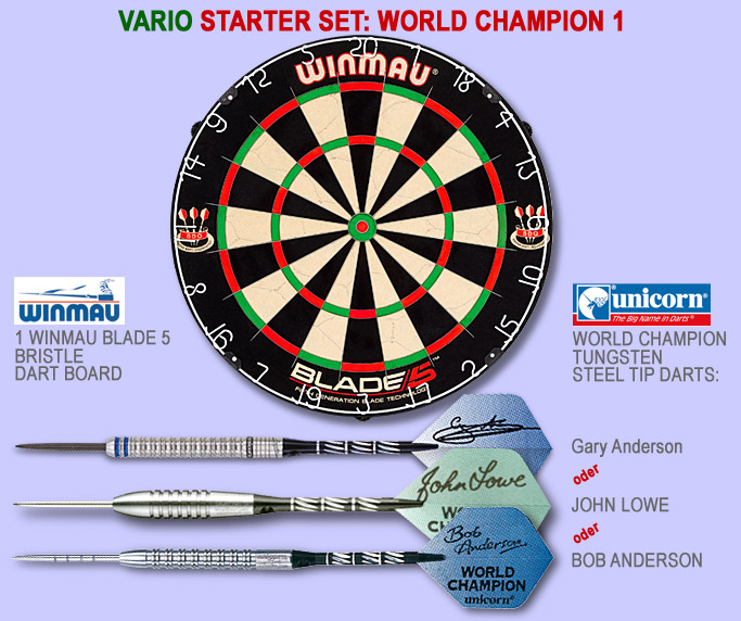Starter Set Vario von Darter's Best