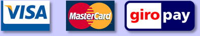 Visa Mastercard Giropay