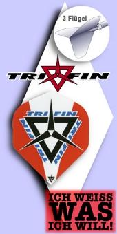 Tri Fin - Standard Flights - Rot