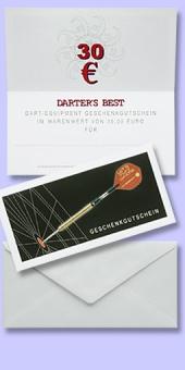Darter's Best Geschenk-Gutschein