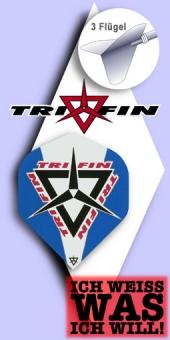 Tri Fin - Standard Flights - Blau