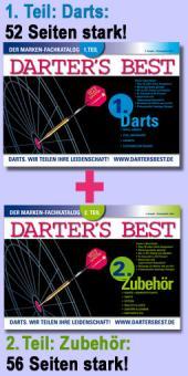 Darter's Best Marken-Fachkataloge 1. Teil (Darts) + 2. Teil (Zubehör)