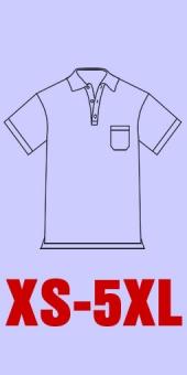 Polo Piqué Dart Shirt mit Brusttasche und seitlichen Schlitzen